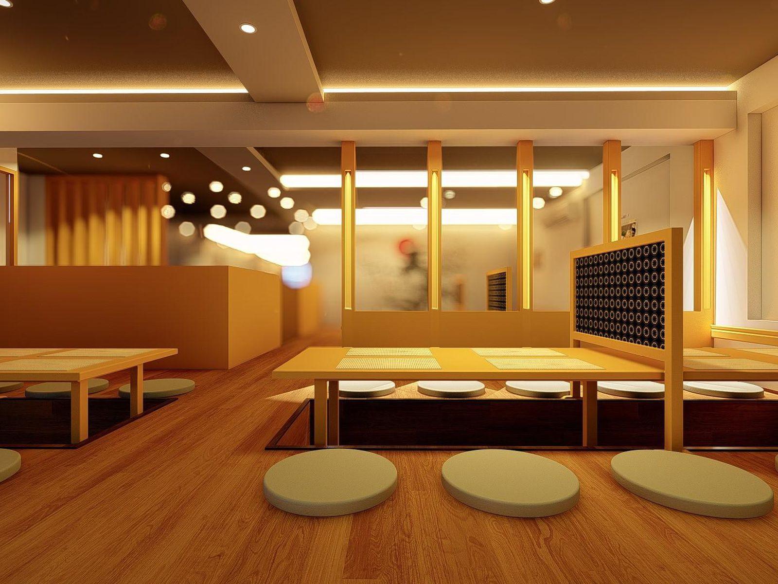 TOKYO DELI PARKVIEW   THIẾT KẾ NỘI THẤT