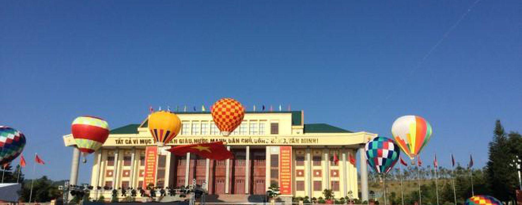 Lai Châu lần đầu tiên tổ chức hoạt động khinh khí cầu phục vụ du lịch