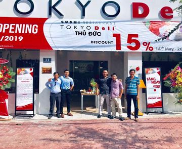 CHÚC MỪNG TOKYO DELI KHAI TRƯƠNG CHI NHÁNH NGUYỄN VĂN BÁ THỦ ĐỨC