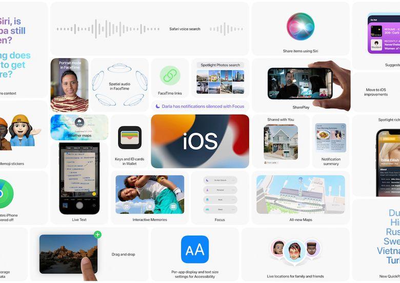 iOS 15 chính thức: cải tiến FaceTime, Scan text từ hình ảnh, đã có trượt để nhập từ Tiếng Việt