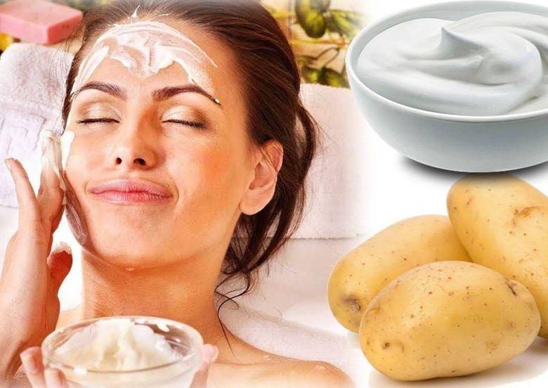 Cách làm mặt nạ khoai tây sữa chua dưỡng da tại nhà, chẳng ngại phải đi xa