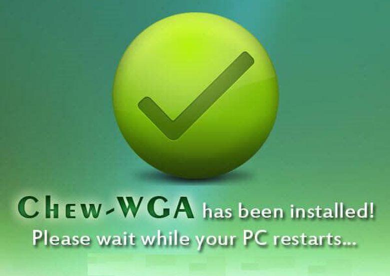 Active Win 7 - Chew WGA v0.9 Công Cụ Crack Windows 7 Thành Công 100%