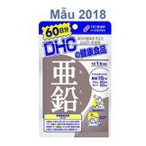 Viên Uống Hỗ Trợ Bổ Sung Kẽm DHC Nhật Bản, 60 viên