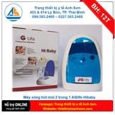 Máy xông hút 2 trong 1 AG Hibaby AG601