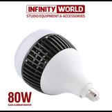 Bóng led siêu sáng hỗ trợ quay phim, chụp ảnh 50W - 80W - 100W - 150W