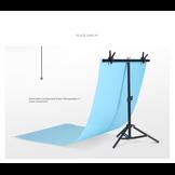 Khung chữ T Mini 70x75cm (Đã kèm 2 kẹp phông) hỗ trợ chụp ảnh sản phẩm