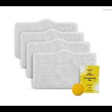 Bộ 4 khăn và 1 viên thơm cho máy vệ sinh hơi nước Deerma ZQ600/610