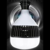 Đèn led siêu sáng tản nhôm đen nguyên khối 80W - 150W giá rẻ