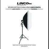 Bộ đèn chụp ảnh, livestream, quay phim cao cấp chính hãng Linco Zenith (Softbox 50x70cm)