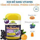 Kẹo Nature's Way Vita Gummies Cold & Flu Immunity hỗ trợ phòng ngừa cúm cho bé