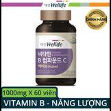 Viên uống bổ sung Vitamin B và C Daesang Wellife