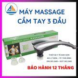 Máy massage cầm tay 3 đầu LC-2007AA