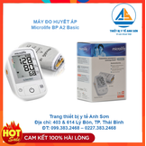 Máy đo huyết áp tự động MICROLIFE BASIC A2