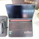 [Mới 100%] Acer Nitro 5 AN515-54-71HS (Core i7-9750H, RAM 8GB, SSD 256GB , VGA 4GB GTX 1650, 15.6 inch, FHD IPS)