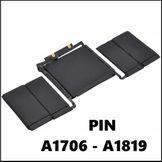 Thay Pin Macbook Tại Huế - Pin Macbook Pro TouchBar 13'