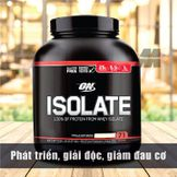ON ISOLATE VANILLA SOFTSERVE 5.01LB – 2.27 KG – Phát triển, giải độc, giảm đau cơ