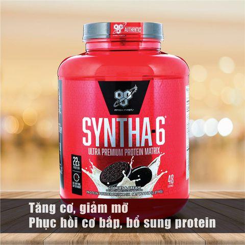 BSN Syntha - 6, 5LBS (2.27kg) - Sữa Tăng Cơ, Giảm Mỡ Hàng Đầu