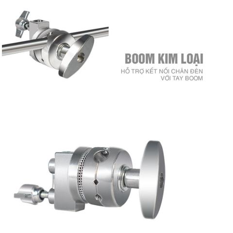 Boom giữ tay & tay boom kim loại - Chất liệu Inox cao cấp, chắc chắn