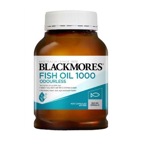 Dầu Cá Blackmores Không Mùi Odourless Fish Oil 1000mg Omega 3