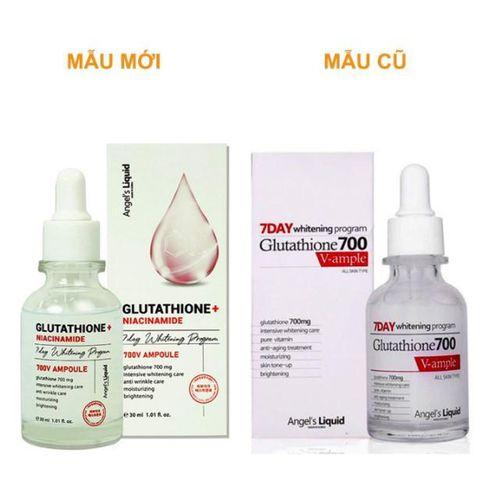 Huyết thanh dưỡng da Angel's Liquid Glutathione + Niacinamide 7day Whitening Program 700V Ampoule Hàn Quốc 30ml