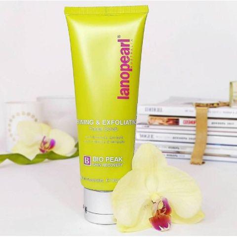 Kem Tẩy Tế Bào Chết Lanopearl Refining&Exfoliating Facial Scrub