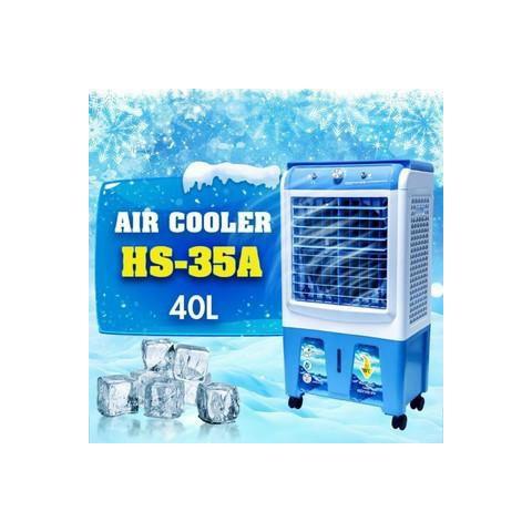 QUẠT ĐIỀU HÒA HƠI NƯỚC AIR COOLER THAY THẾ ĐIỀU HÒA MODEM HS-35A (Kính)