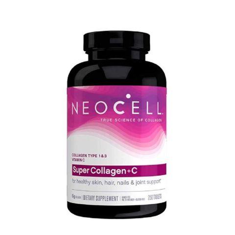 Viên Uống Neocell Super Collagen +C Type 1&3, 250 viên