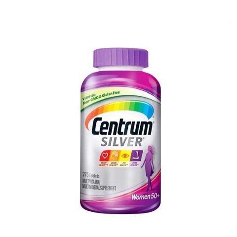 Vitamin Dành Cho Phụ Nữ Trên 50 Tuổi Centrum Silver Women 50+ 275 Viên Mỹ