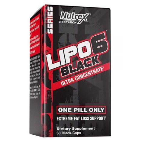 Lipo 6 Black Ultra Concentrate 60 viên