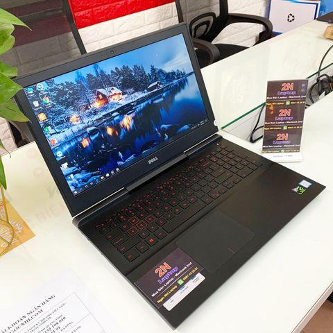 Laptop Dell Inspiron 7567 (Core i7-7700HQ, RAM 16GB, SSD 256GB, VGA 4GB NVIDIA GTX 1050Ti, 15.6 inch UHD 4K 3840x2160 )