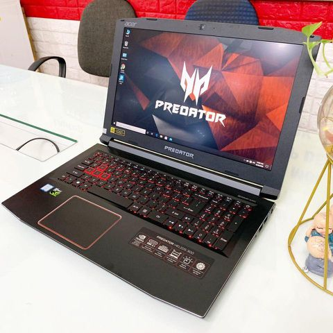 [Mới 100%] Laptop Acer Predator Helios 300 (Core i7-7700HQ, RAM 8GB, HDD 1TB + SSD 128GB, VGA 4GB NVIDIA GTX 1050Ti, 15.6 inch FHD IPS)