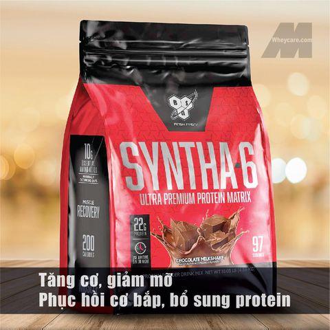 BSN SYNTHA - 6, 10 LBS (4,56 KG) - Sữa Tăng Cơ, Giảm Mỡ Hàng Đầu