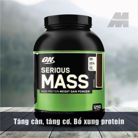 ON SERIOUS MASS, 6 LBS (2,27 KG) - Sữa tăng cân, tăng cơ