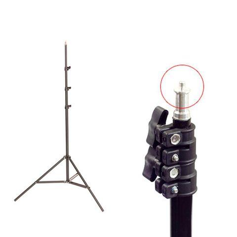 Chân đèn studio 2,8m - Khớp đệm lò xo chắc chắn (Ống phi 32cm - Tải trọng lớn)
