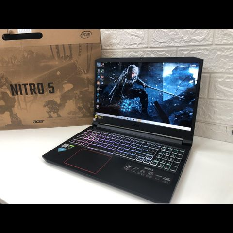 Acer Nitro 5 2020 (Core I7-10750H | RAM 8GB | SSD Nvme 256GB | 15.6″ FHD IPS 144Mhz (1920x1080)  | Card NVIDIA GeForce GTX 1650Ti 4GB )