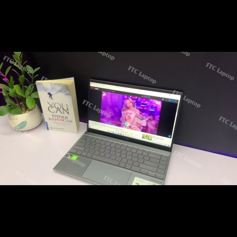 ASUS Zenbook Q408UG (AMD Ryzern 5 5500U | RAM 8GB |SSD M.2 NVMe 256GB | 14