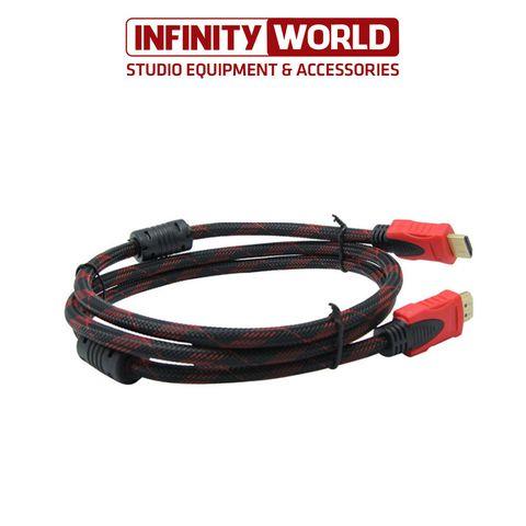 Dây cáp HDMI (Dài 5m) 1.4 Full HD bọc dù cao cấp (Có chống nhiễu hiệu quả)