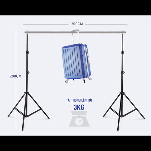 Khung treo phông 2x2m - Hợp kim nhôm