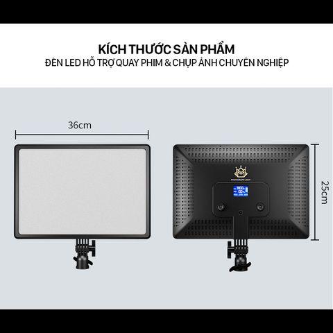 Đèn hỗ trợ live stream, studio và chụp ảnh, quay phim chuyên nghiệp PHOTOGRAPHY LIGHT A111 chính hãng