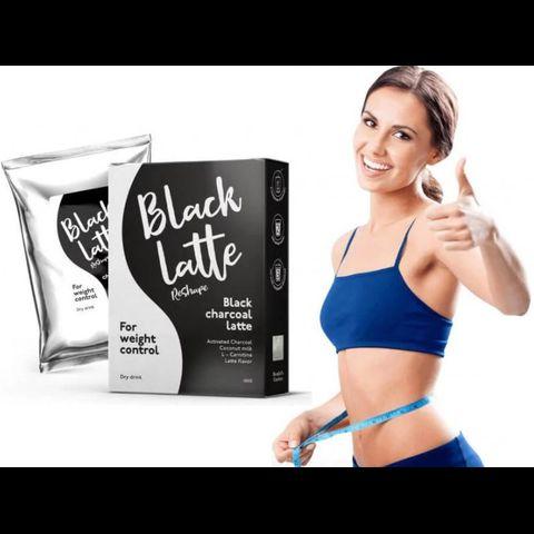 Black Latte - Cà phê than hoạt tính giảm cân của Nga