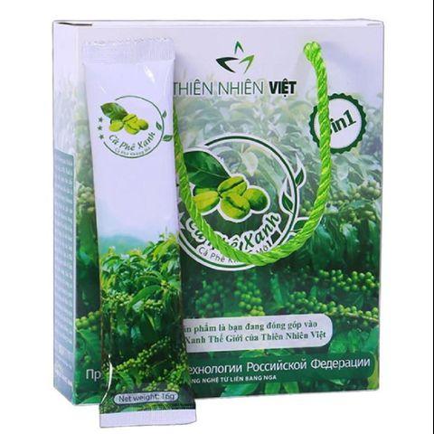 Cà phê xanh giảm mỡ Thiên Nhiên Việt