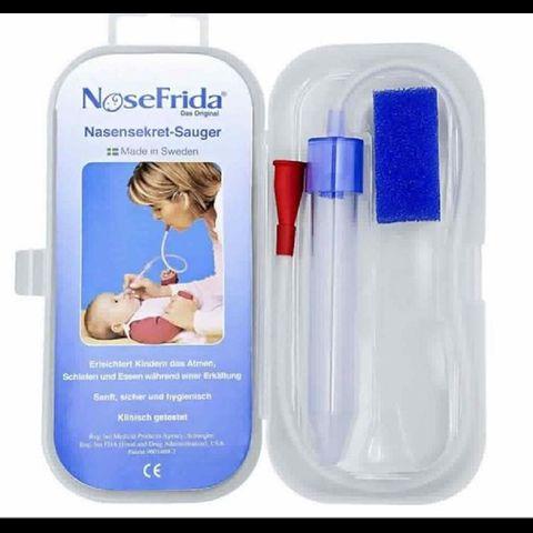 Dụng cụ hút mũi Nosefrida chữa ngạt mũi