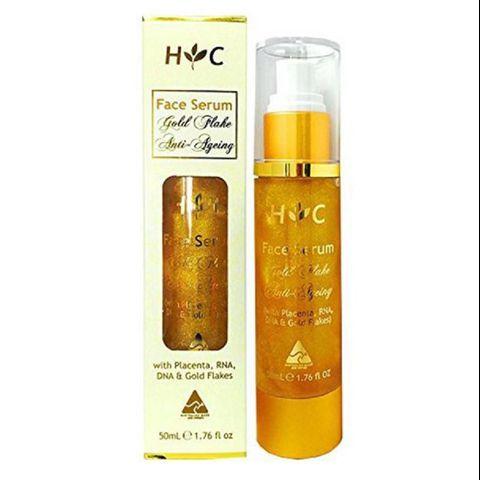 Healthy Care Gold Flake Anti-Aging Face Serum Serum Chống Lão Hóa Tinh Thể Vàng Và Nhau Thai Cừu 50ml