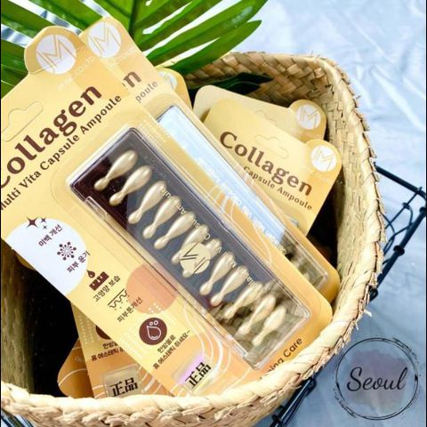 Tinh Chất Collagen Ammud Multi Vita Ampoule Collagen (12 viên x 400mg)