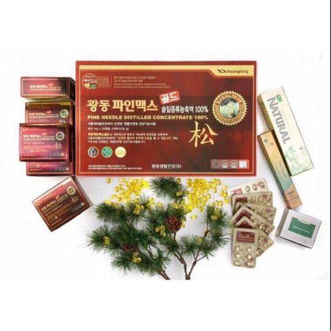 Tinh dầu Thông Đỏ Kwangdong 120 Viên Hàn Quốc