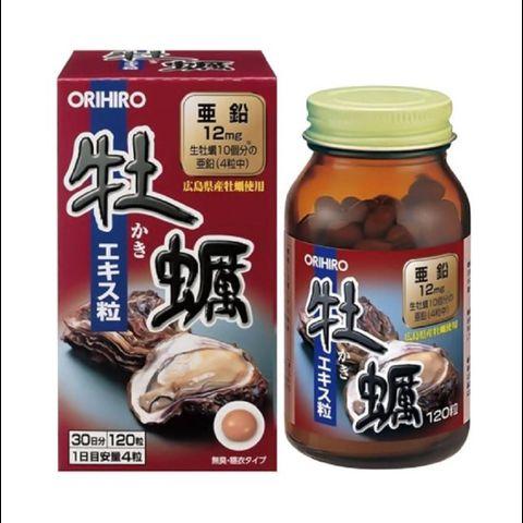 Viên uống tinh chất hàu Nhật Bản Orihiro 120 viên