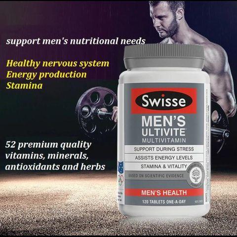 Vitamin Tổng Hợp Cho Nam Swisse Men's Ultivite Multivitamin