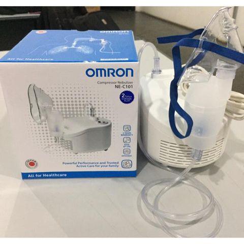Máy xông khí dung mũi họng OMRON NE-C101