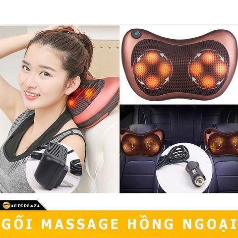 Gối massage hồng ngoại 8 bi Magic Pillow PL-819