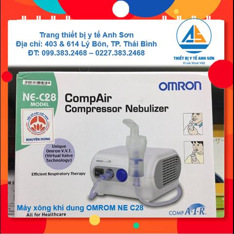 Máy xông khí dung mũi họng OMRON NE-C28